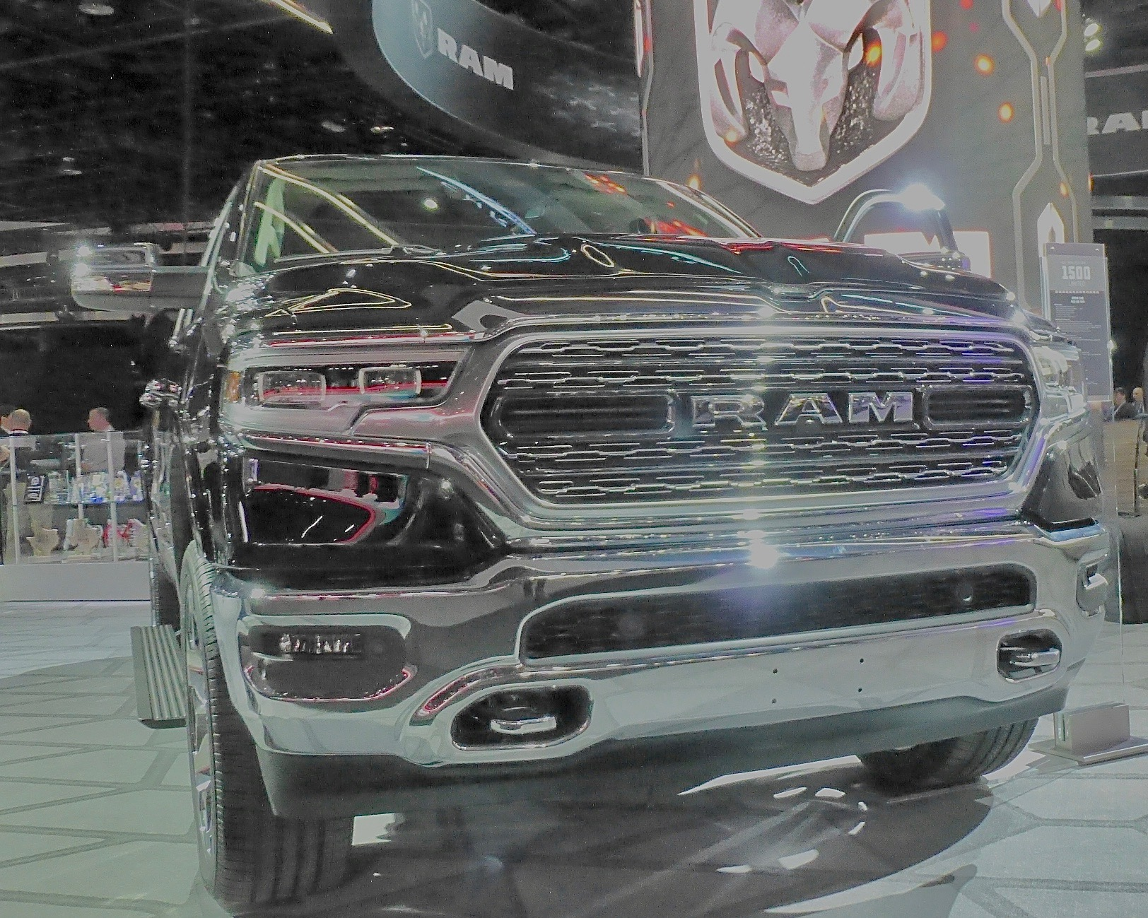 Unveiling of 2019 Ram 1500 with much more refined look earned Best in Show from Cars.com.