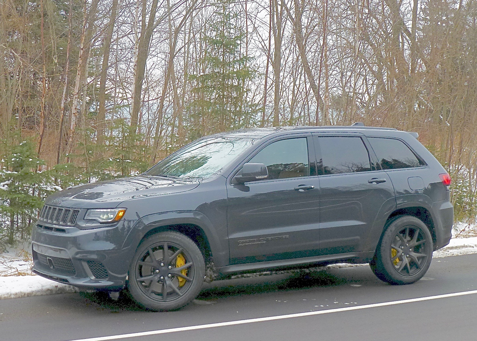 Grand Cherokee is a popular Jeep SUV, but Jeep owners won't believe TrackHawk model.