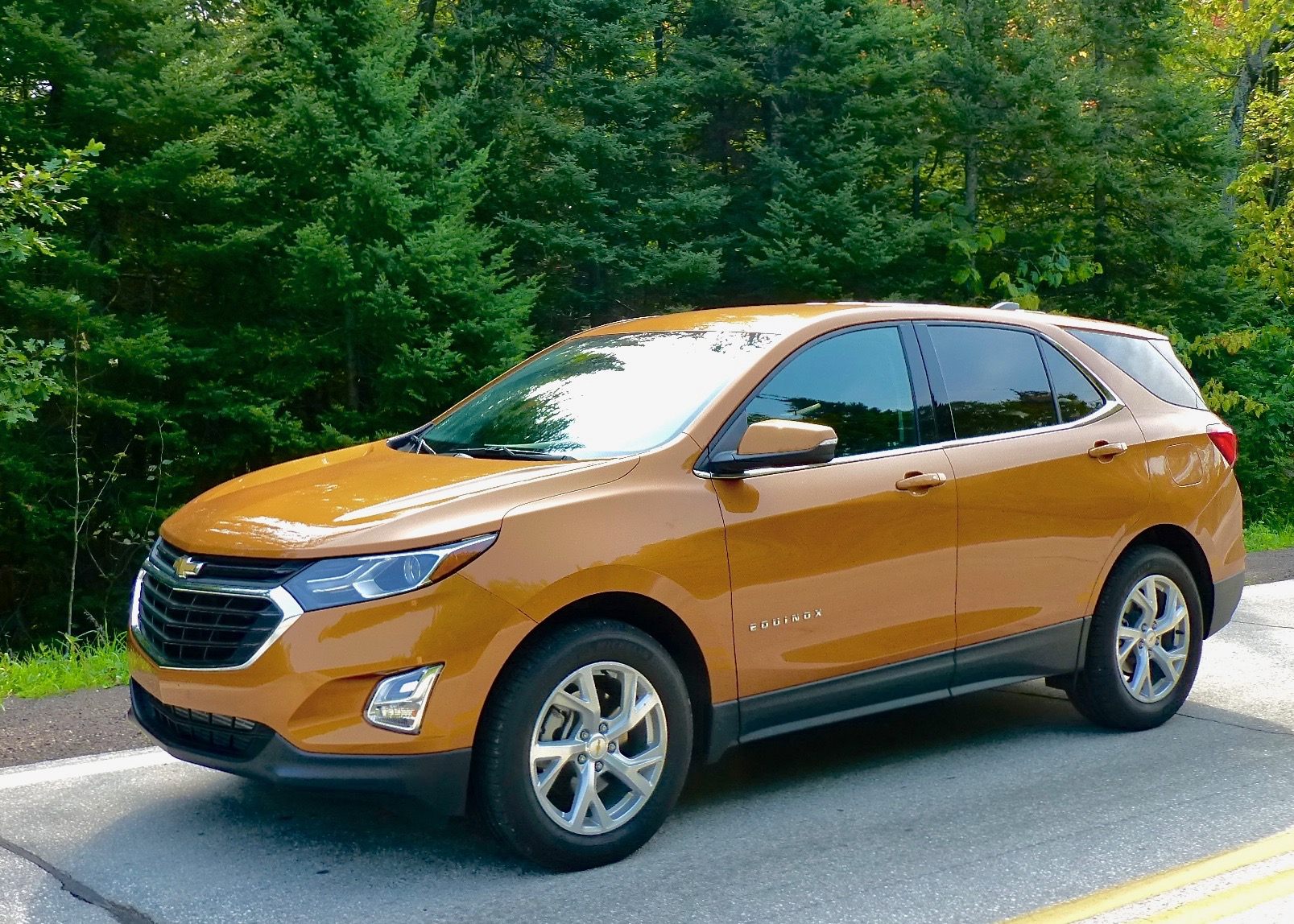 Revised Chevrolet Equinox is a new-generation size alongside traditional Chevrolet SUVs.