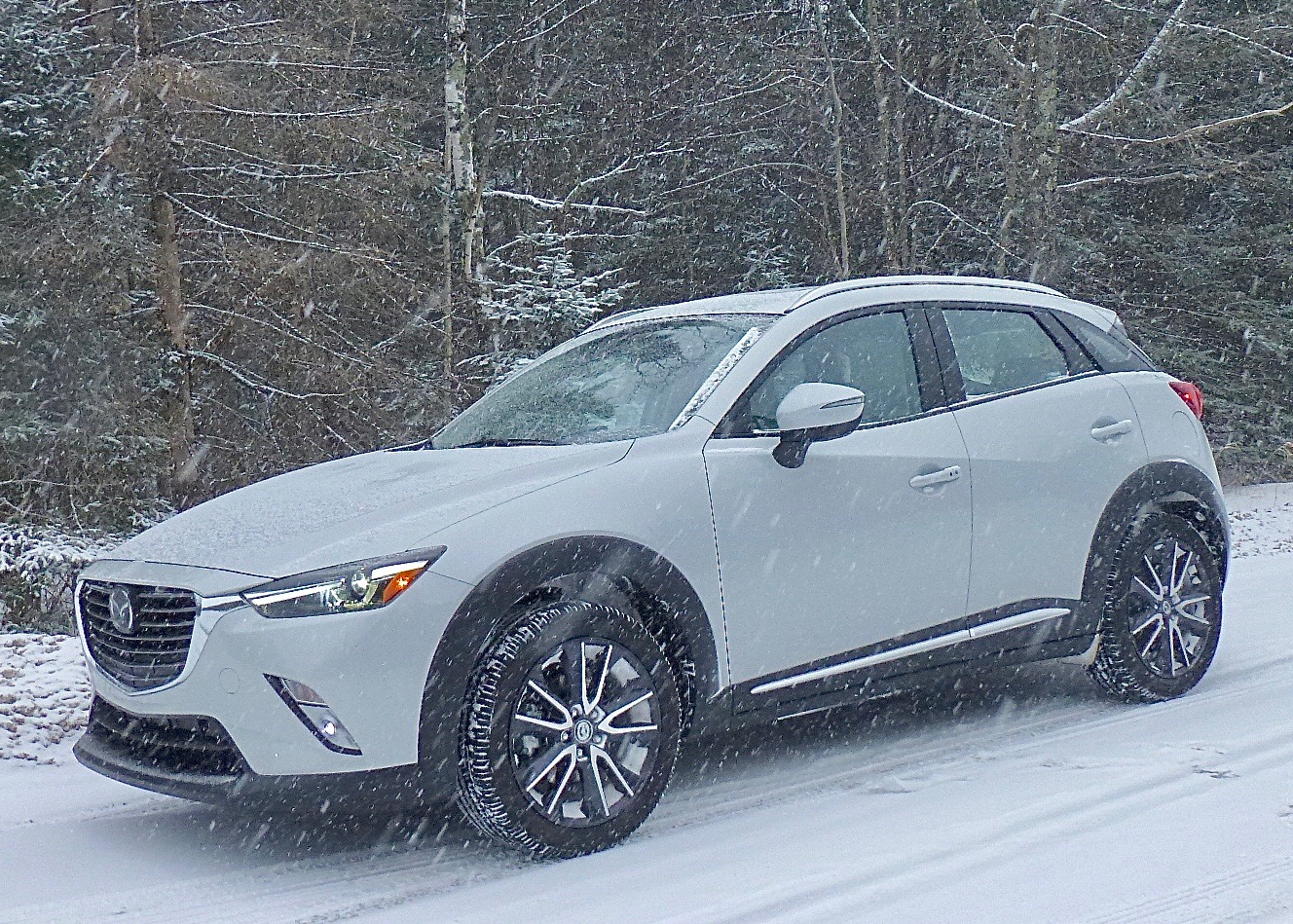 Mazda designers blended style into every contour and crease of the CX-3.