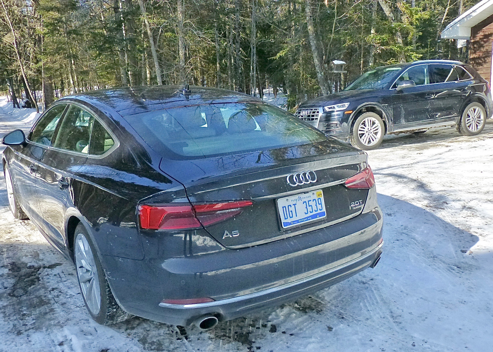 If you choose wisely, you can get either an Audi Q5 or A5 sedan with the same drivetrain.