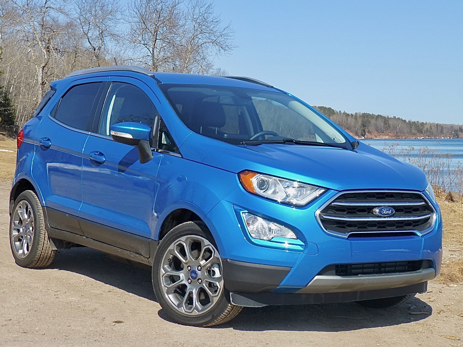 At the most-compact end of the spectrum is Ford's new EcoSport, with a 1.0-liter turbocharged 3.