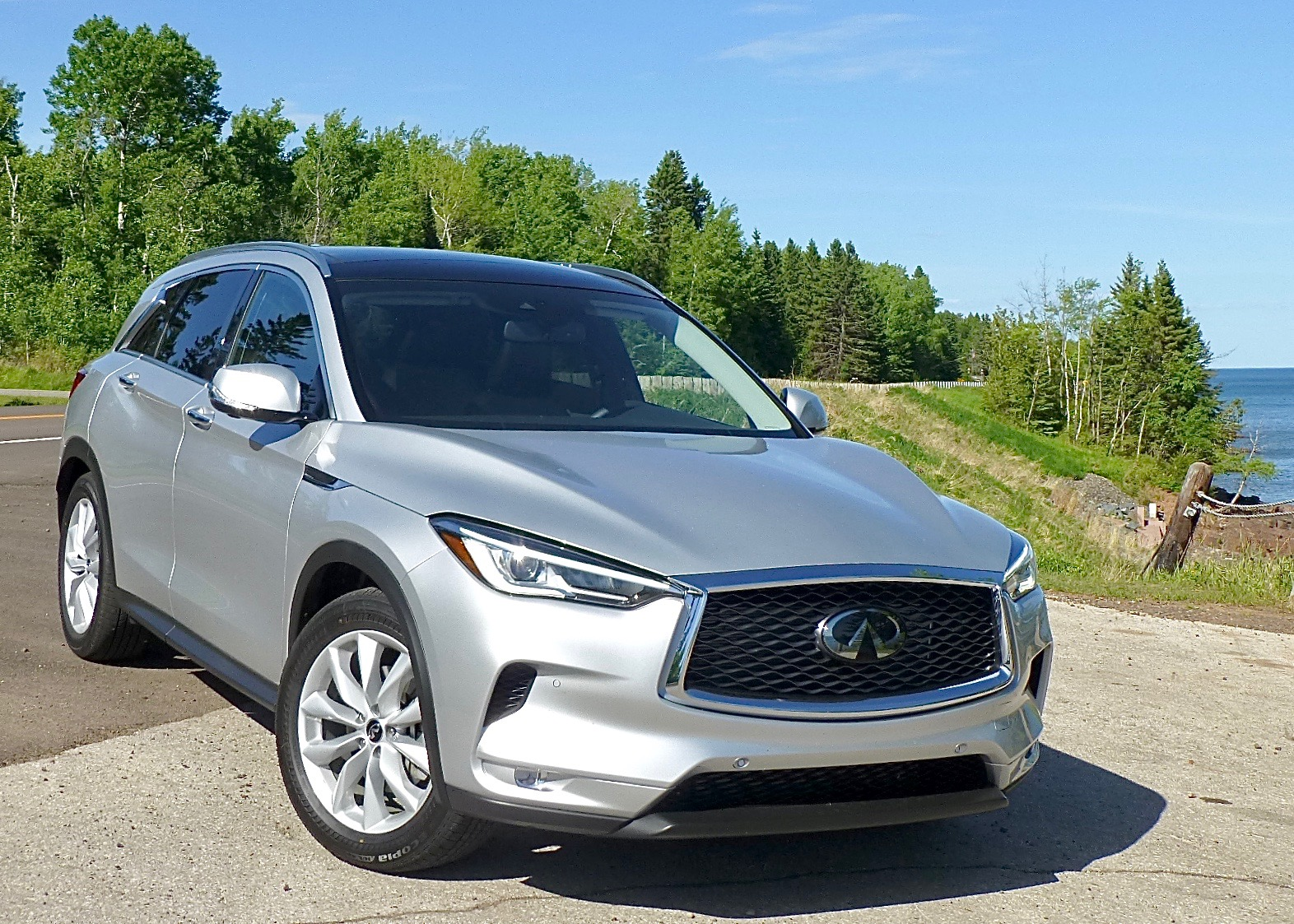 In the ever-expanding Infiniti SUTV stable, the 2019 QX50 is something special -- with variable compression power.