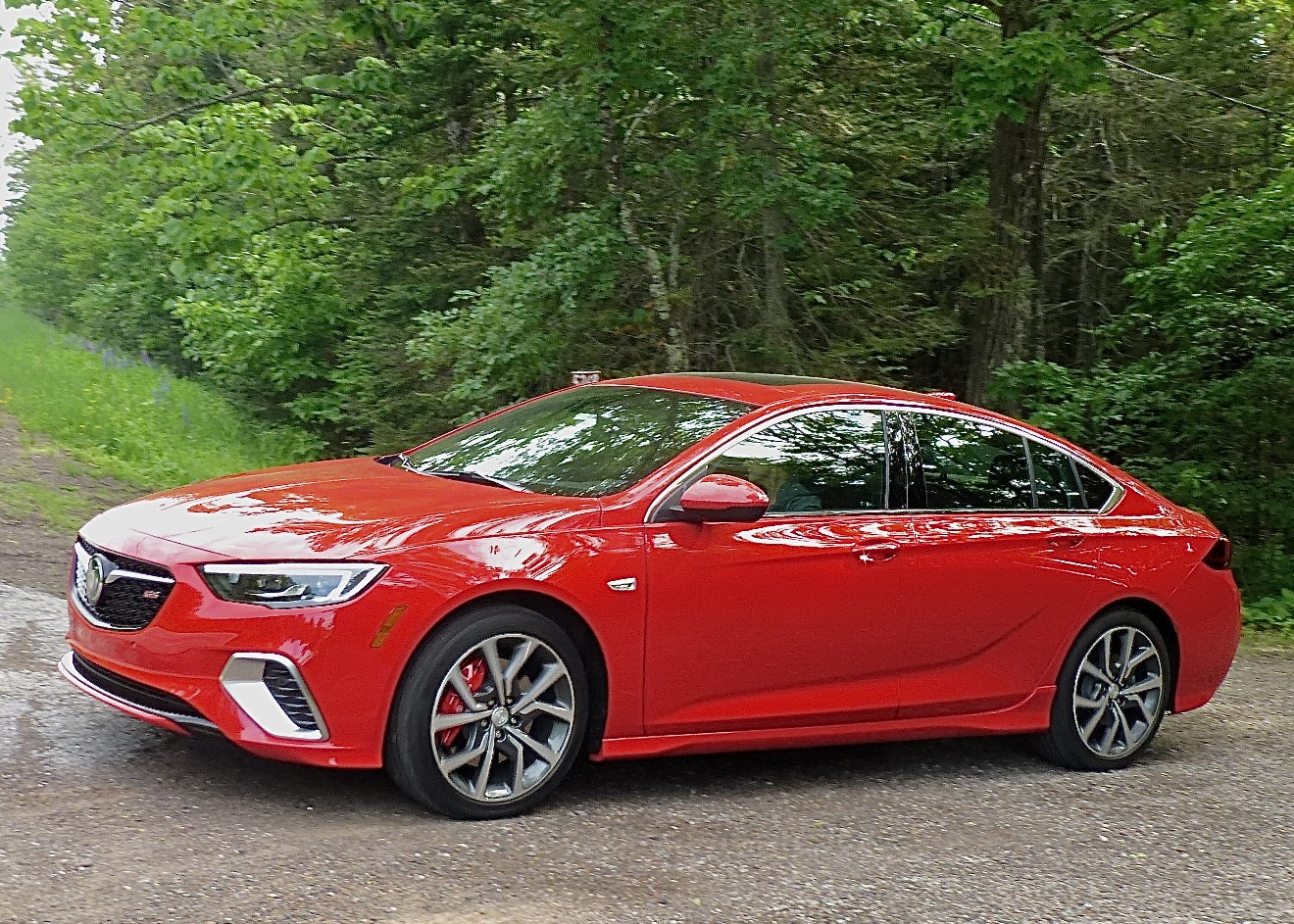 Showing off lines no Buick has ever shown, new Regal GS should spur sales.