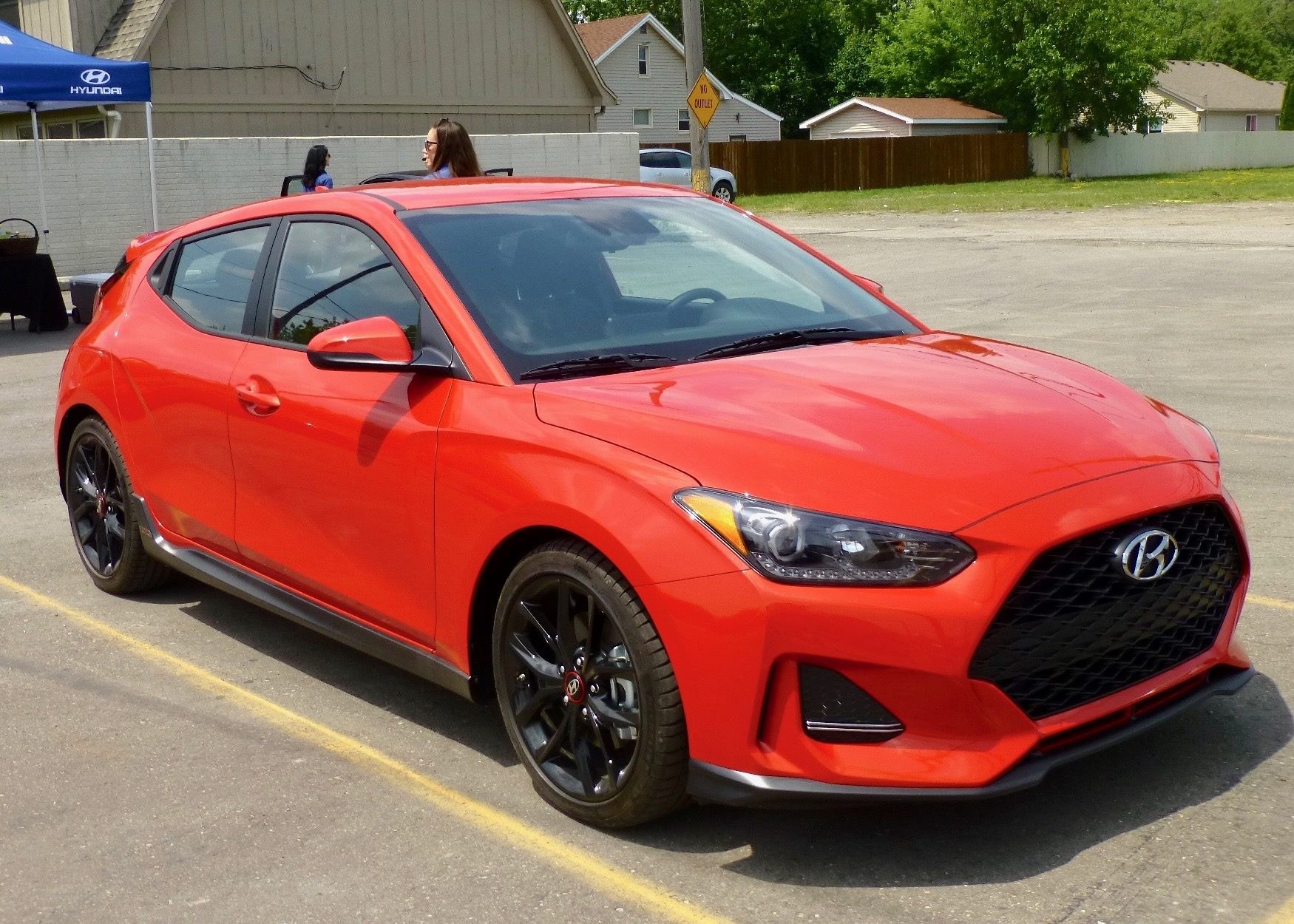 New 2019 Hyundai Veloster R-Spec is refined and adds performance features.