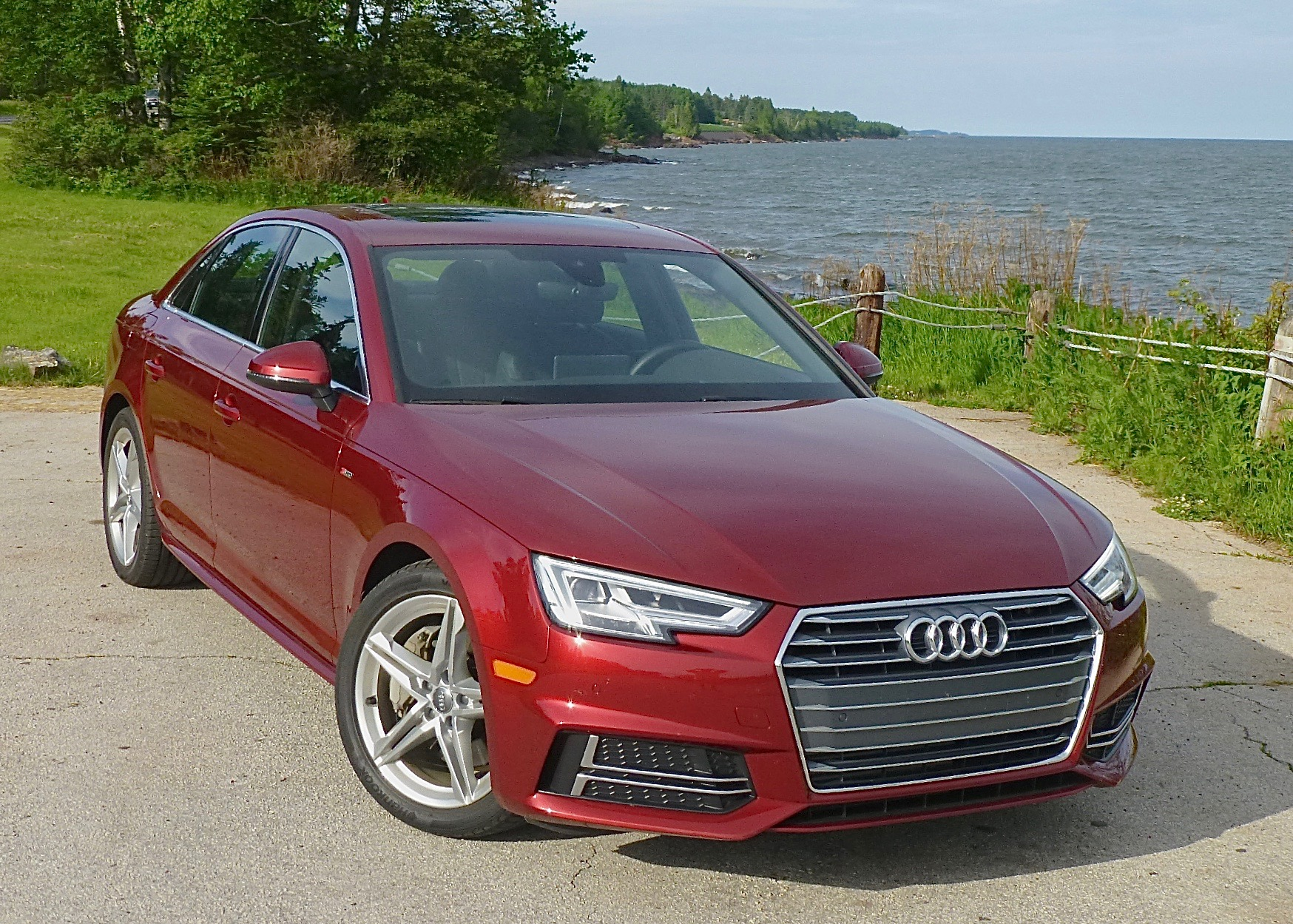 The new A4 price reflects its new stature, technology.