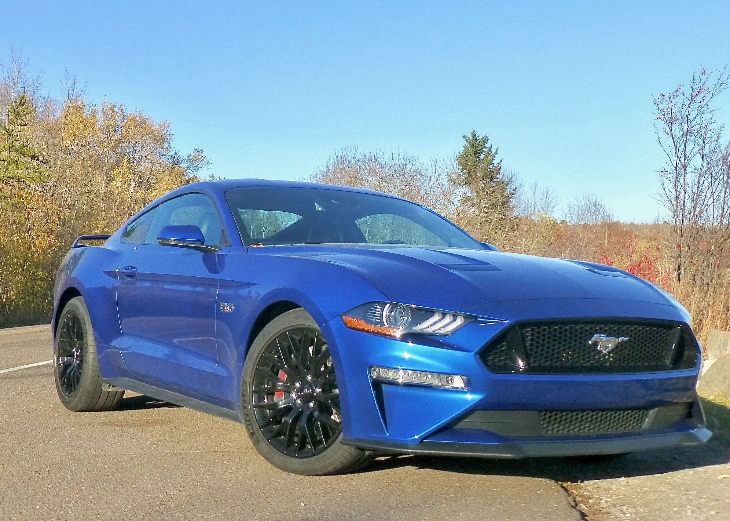 There are costlier Mustangs, but the GT Coupe Premium with 460 horsepower and precise handling is more than enough.