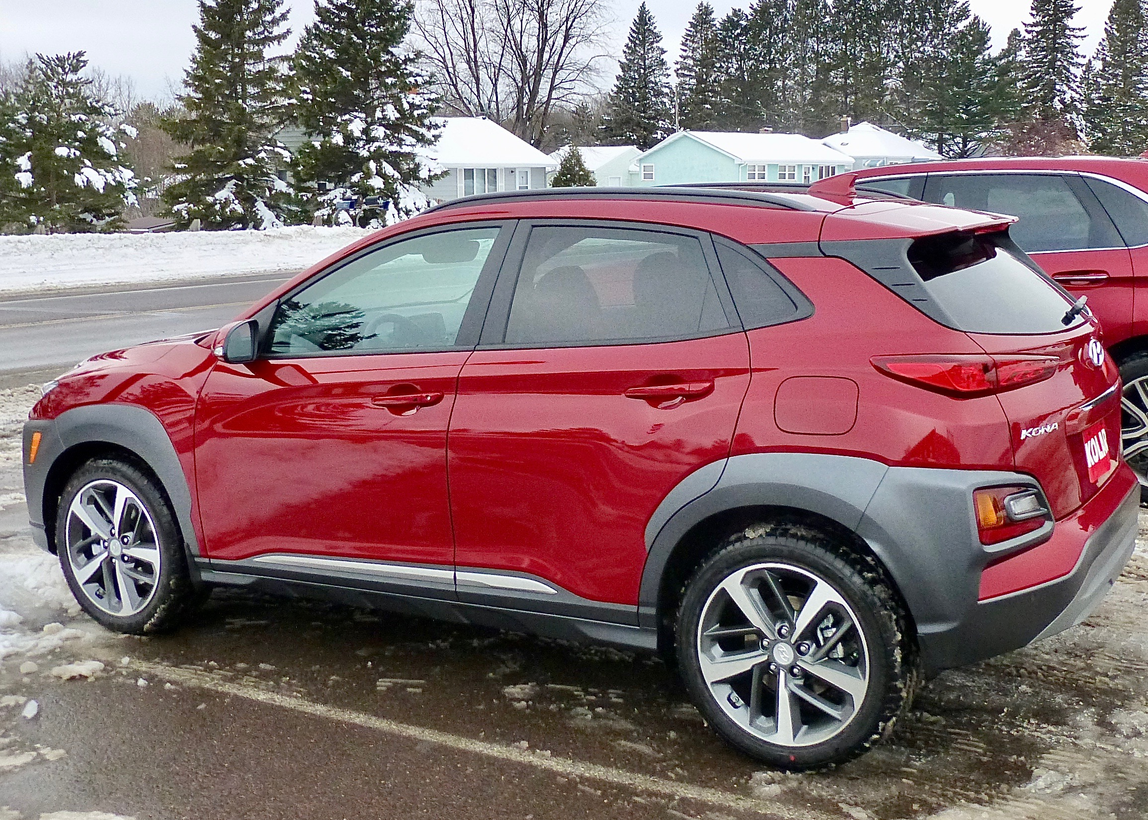 All-wheel-drive platform with 1.6 Turbo and 7-speed dual-clutch are all Kona assets.