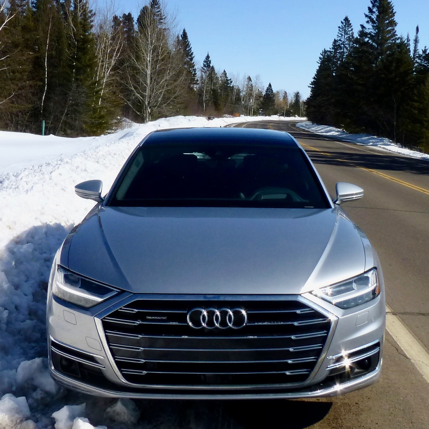 The style, and price tag, leaves the A8L fard ahead of Audi's A3, A4, A6, and assorted SUVs.