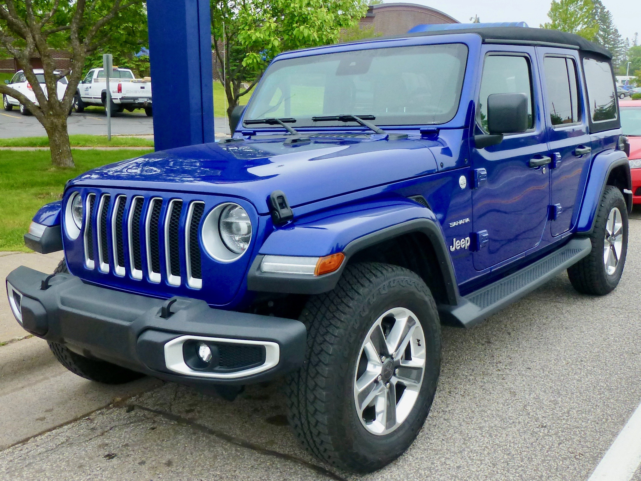 Wrangler might be at the upper limits of sophistication, risking its rugged reputation.