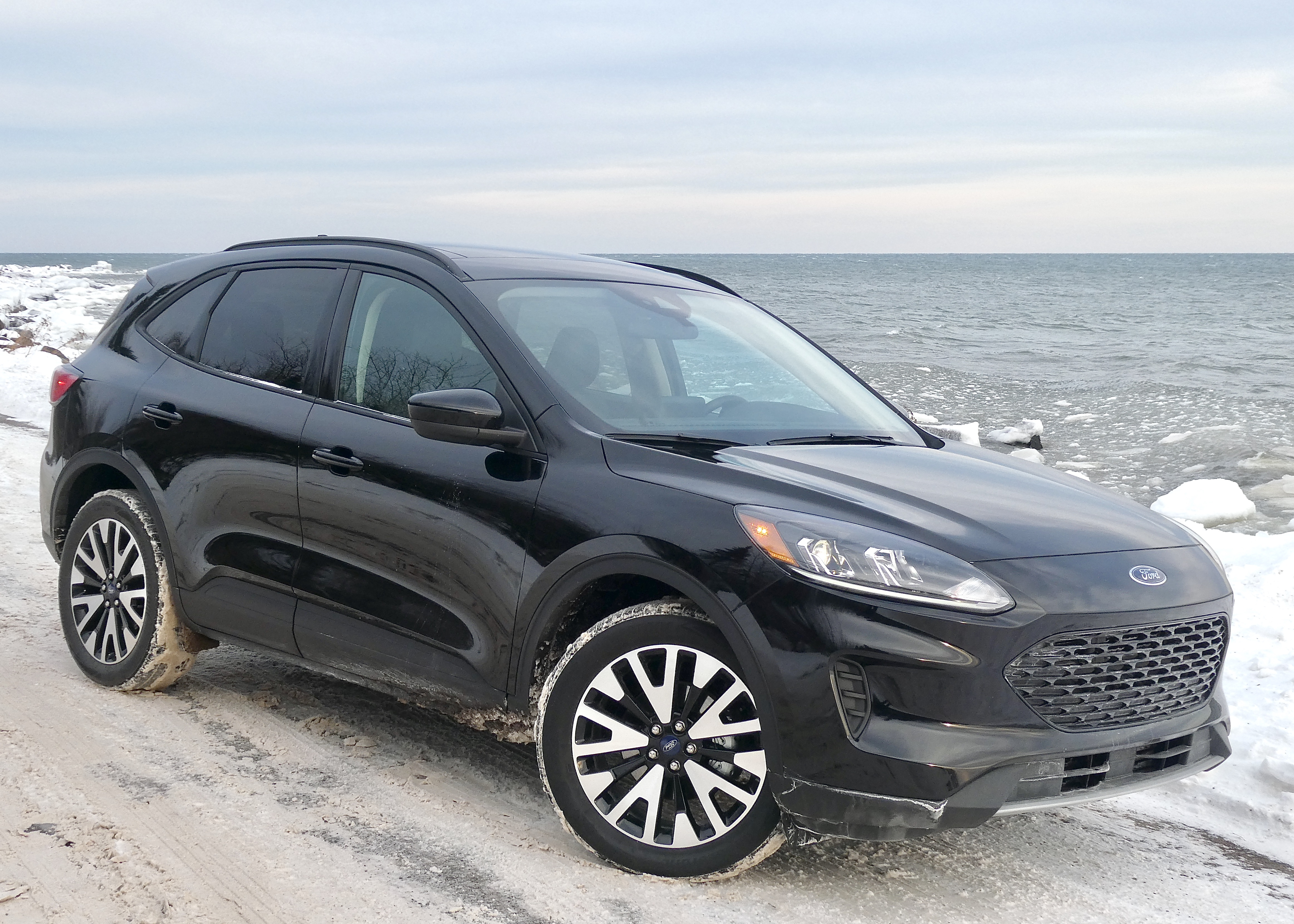 Snow, cold, and the climate of Lake Superior's North Shore can make you want to escape, and the new Escape is the right vehicle.