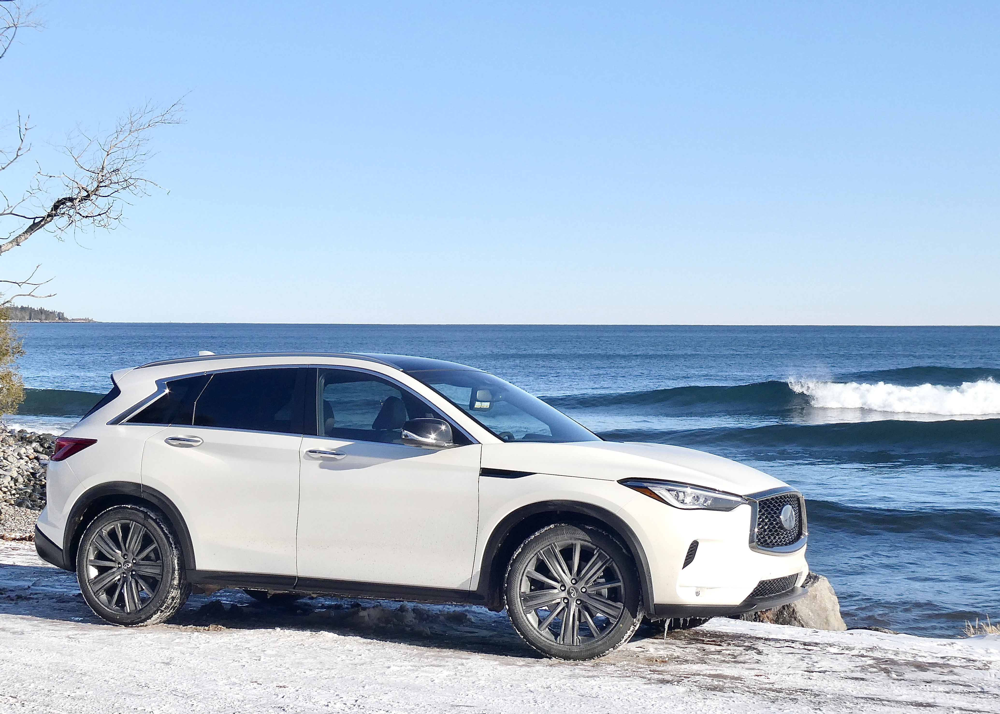 Like waves of Lake Superior, Infiniti QX50 is wave of SUV future.