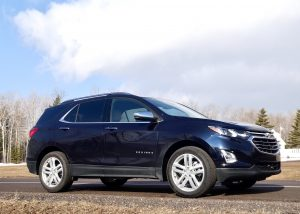 The giant Suburban is still there, but Chevrolet has improved the Equinox with an upscale Premier version that moves up to the top level of compact SUVs.