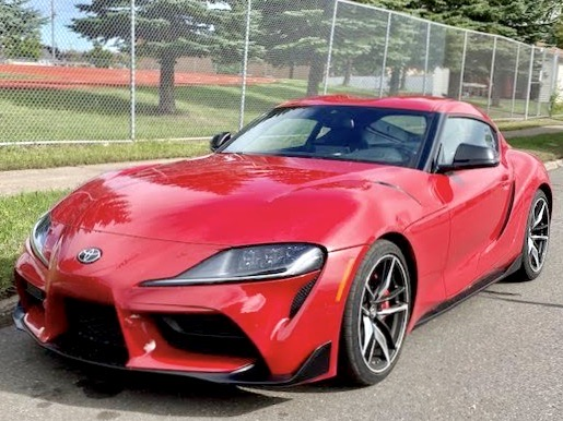 Toyota style and BMW 3-liter 6 make flashy combination.