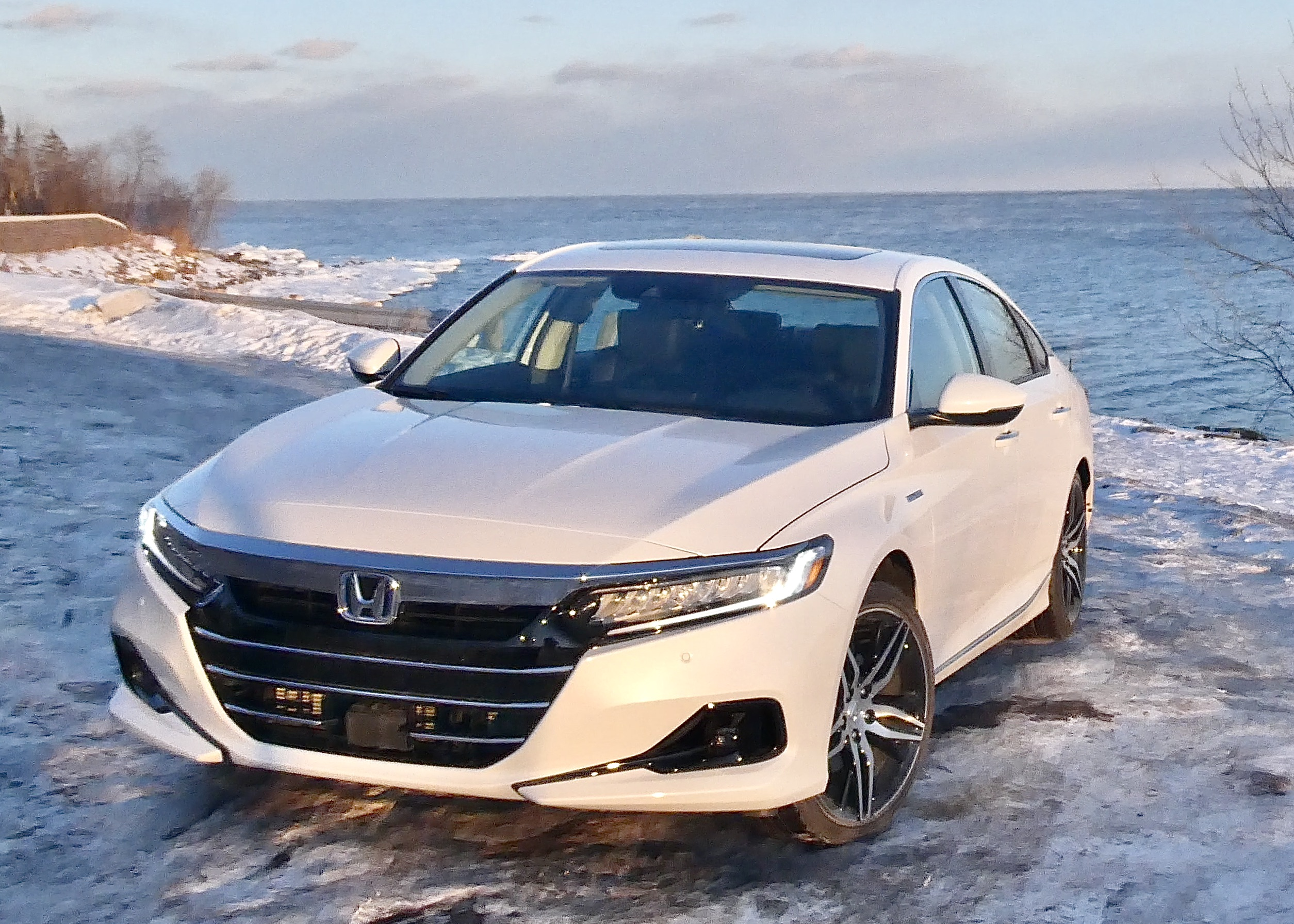 Smooth seams and striking design give the new Accord another annual upgrade in style.